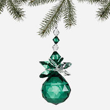 Simulated Birthstone Ornament - May