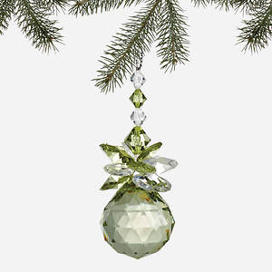 Simulated Birthstone Ornament - August