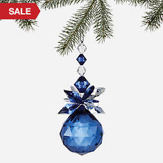 Simulated Birthstone Ornament - December