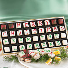 Personalized Merry Christmas Petits Fours