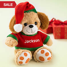 Personalized Christmas Puppy