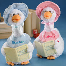 Personalized Mother Goose