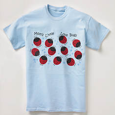 Personalized Love Bug Tee Shirts