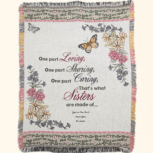 Personalized Throws For Her
