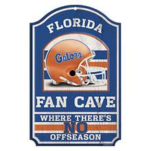 Collegiate Fan Cave Sign