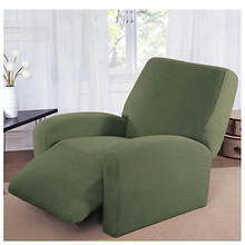 Stretch Basketweave Recliner Slipcover