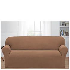 Stretch Basketweave Sofa Slipcover