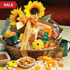 Personalized Sunshine Gift Basket