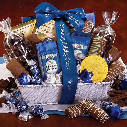 Personalized Chocoholics Gift Basket