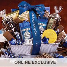 Personalized Chocoholics Gift Basket