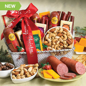 Personalized Heartland Buffet Basket