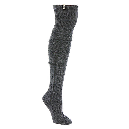 UGG® Women's Slouchy Speckle Thigh High Sock