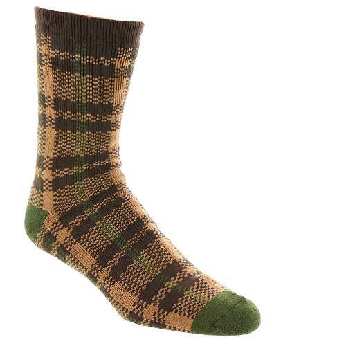 UGG® Men's Plaid Crew Sock