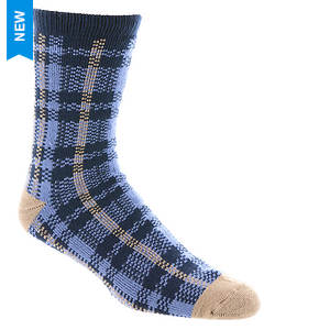 UGG® Men's Plaid Crew Sock