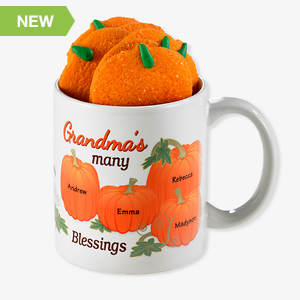 Personalized Fall Mug - Grandma