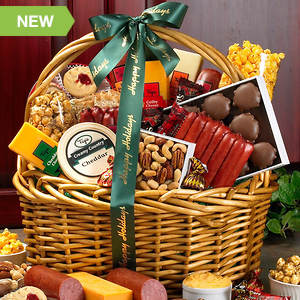 Personalized Grand Impressions Gift Basket