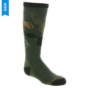 Smartwool Boys' Wintersport Camo Sock