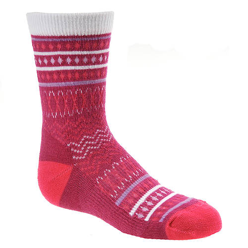 Smartwool Girls' Diamond Flush Crew Sock