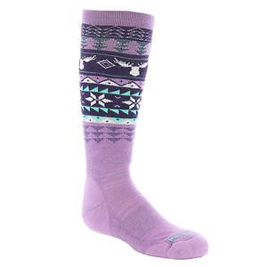 Smartwool Girls' Wintersport Fairisle Moose Sock