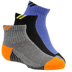 Stride Rite Boys' 3-Pack Cory Sport Quarter Socks