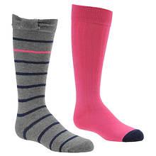 Stride Rite Girls' 2-Pack Brynley Bow Knee High Socks