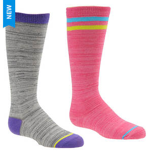 Stride Rite Girls' 2-Pack Tori Tube Socks