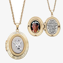 Memorial Locket Necklace