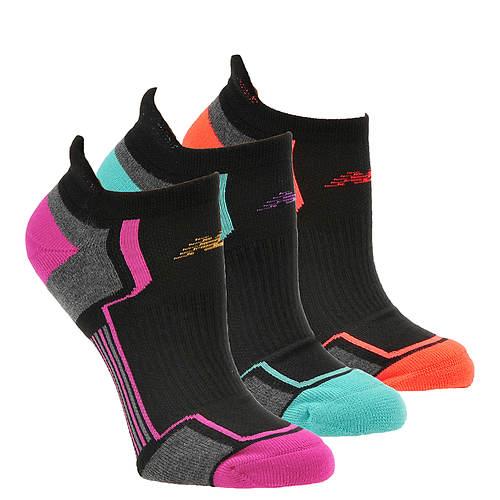 New Balance N686-3 Low Cut Tab Socks 3-Pack (Women's)