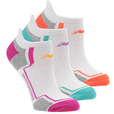 New Balance N686-3 Low Cut Tab Socks 3-Pack (Women's)