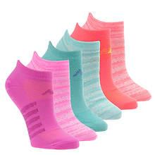 New Balance N032 No Show Socks 6-Pack (Women's)