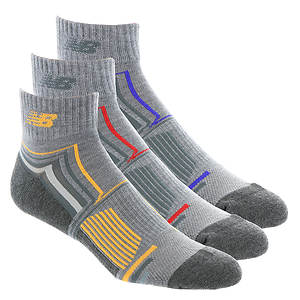 New Balance N674-3 Ankle Socks 3-Pack (Men's)