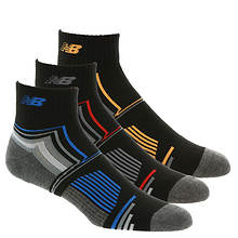 New Balance N674-3 Performance Ankle Socks 3-Pack (Men's)