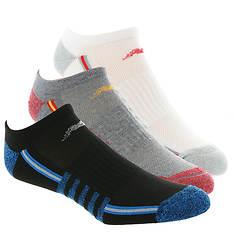 New Balance N611-3 No Show Socks 3-Pack (Men's)