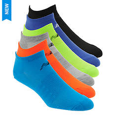 New Balance N032 No Show Socks 6-Pack (Men's)