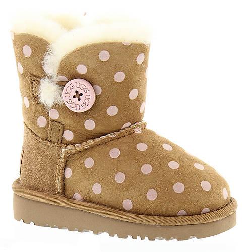 UGG® Bailey Button Polka Dot (Girls' Toddler-Youth)