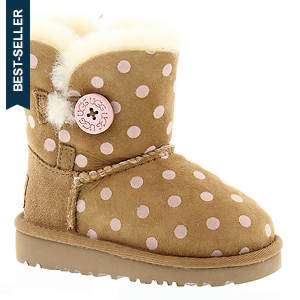UGG® Bailey Button Polka Dot (Girls' Toddler-Youth)