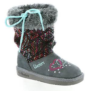 Skechers Twinkle Toes: Glamslam-Lil Lovelies 10643N (Girls' Infant-Toddler)