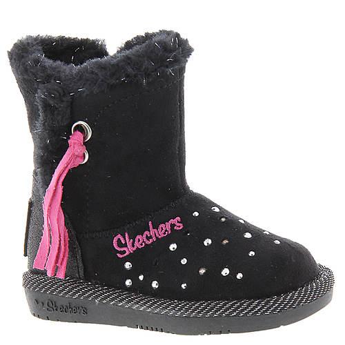 Skechers Twinkle Toes Glamslam Tassle Tootsies 10668N (Girls' Infant-Toddler)