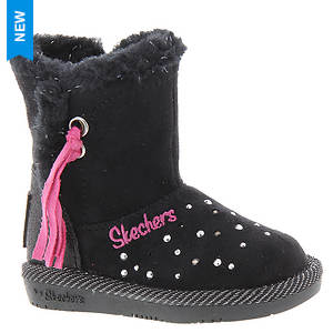 Skechers Twinkle Toes: Glamslam-Tassle Tootsies 10668N (Girls' Infant-Toddler)