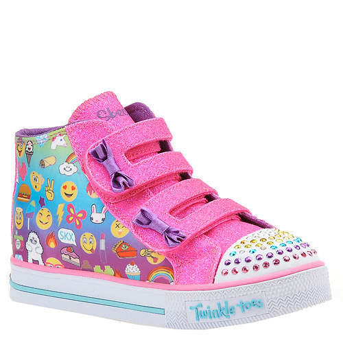 Skechers Twinkle Toes Shuffles Baby Talk (Girls' Infant-Toddler)