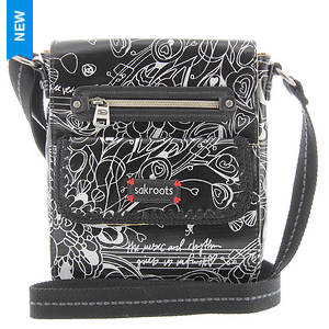 Sakroots Artist Circle Small Flap Messenger Bag