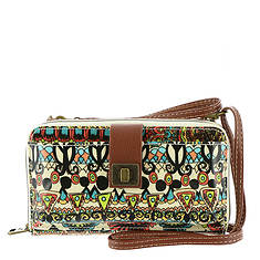 Sakroots Artist Circle Large Phone Crossbody Bag