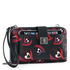 Sakroots Artist Circle Large Phone Crossbody Bag