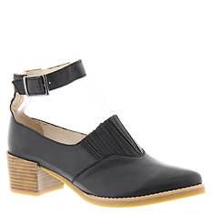 ALL BLACK Heeled Open Boot Strap (Women's)