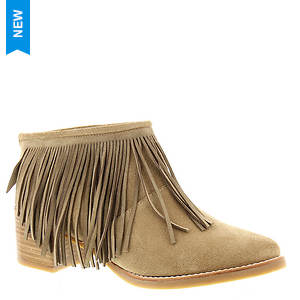 ALL BLACK Long Fringe Bootie (Women's)