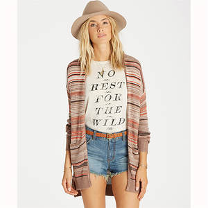 Billabong Women's Stripes Over You Cardigan