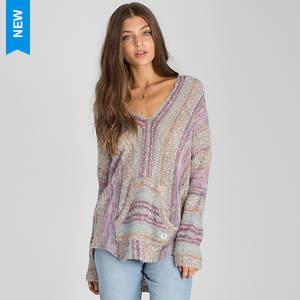 Billabong Women's Seaside Ryder Stripe Hoodie