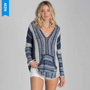 Billabong Women's Seaside Ryder Stripe Hoodie