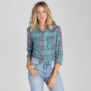 Billabong Women's Flannel Frenzy Top