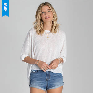 Billabong Women's Sitting on the Sea Top